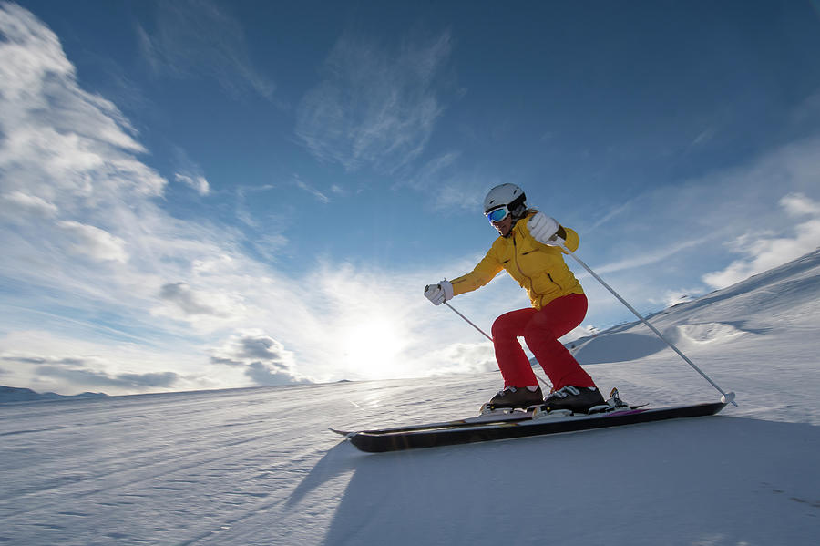 Skiing Winter Sport Photograph by Gorfer