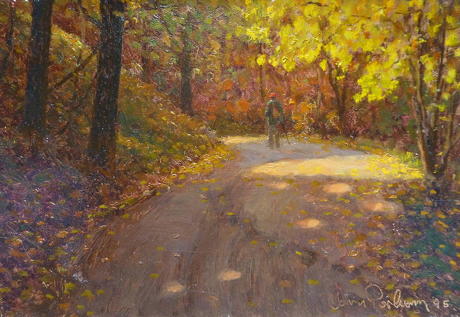 Autumn Painting - Skippers Autumn by Terry Perham