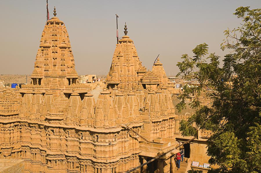 Skn 1195 Jain Temple Architecture Photograph