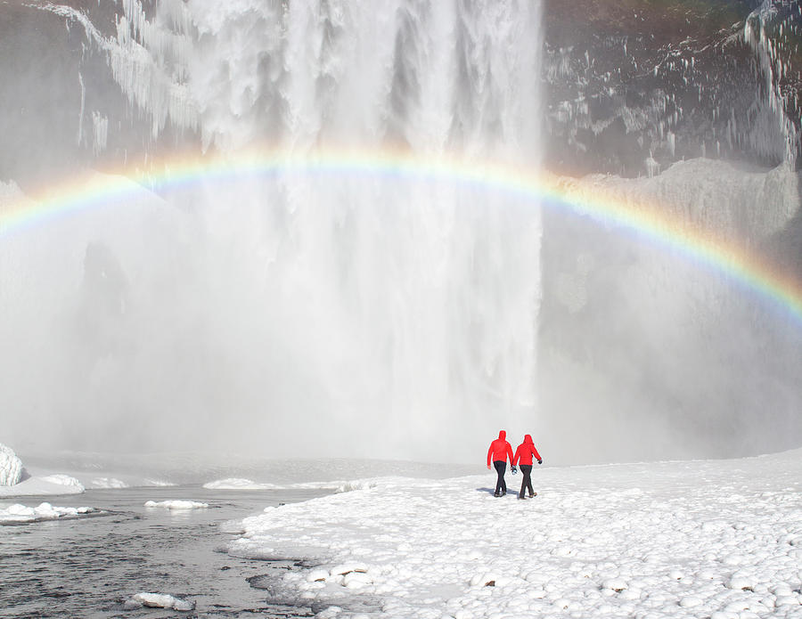 Skogafoss Waterfall, Iceland Photograph by Travelpix Ltd