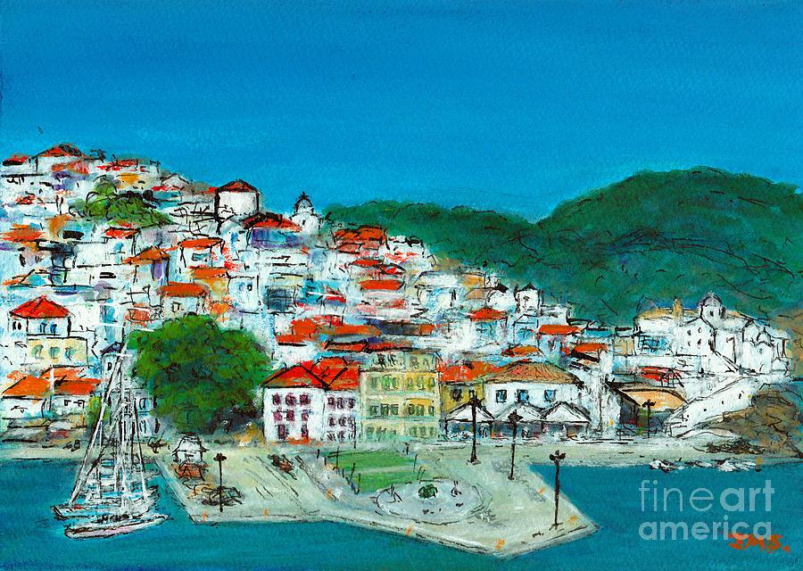 Skopelos Greece by Jackie Sherwood