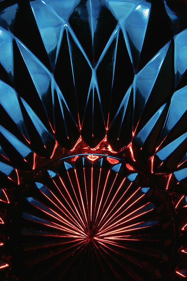 Abstract Photograph - Skc 0269 Cut Glass by Sunil Kapadia