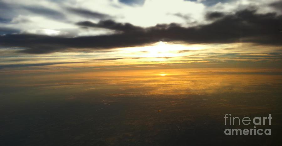Flight Photograph - Sky Above by Raymond Earley