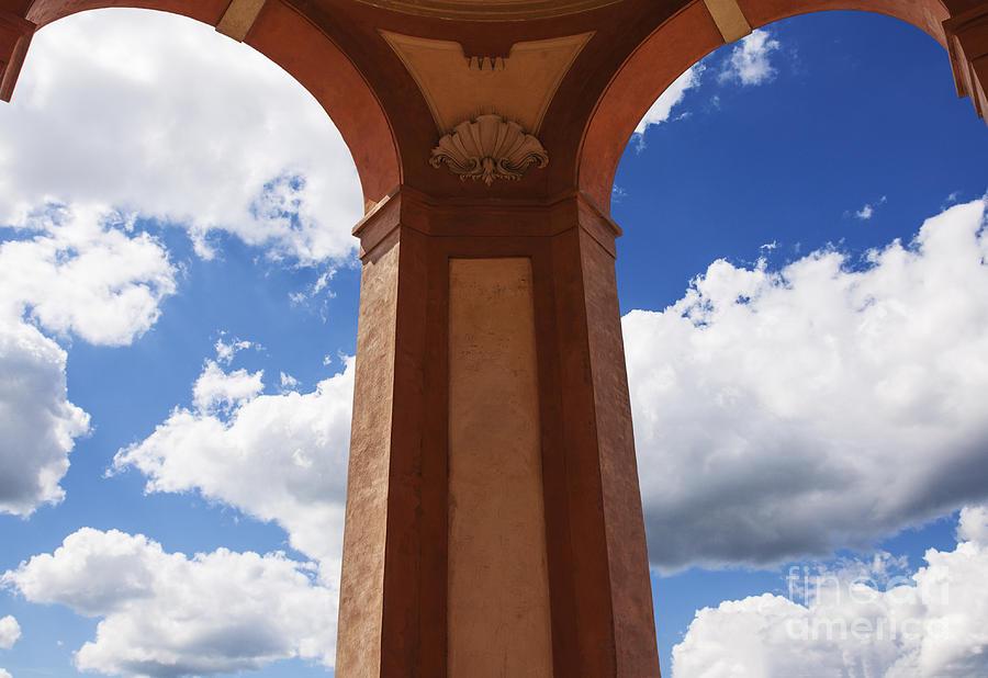 Arch Photograph - Sky Archs by Rostislav Bychkov
