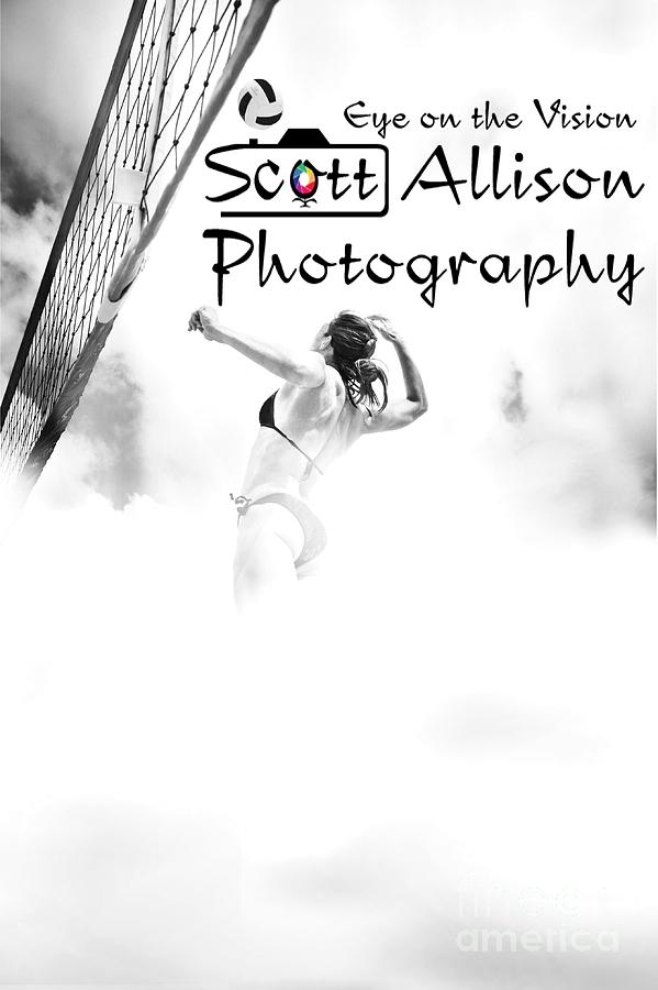 Volleyball Photograph - Sky Ball by Scott Allison