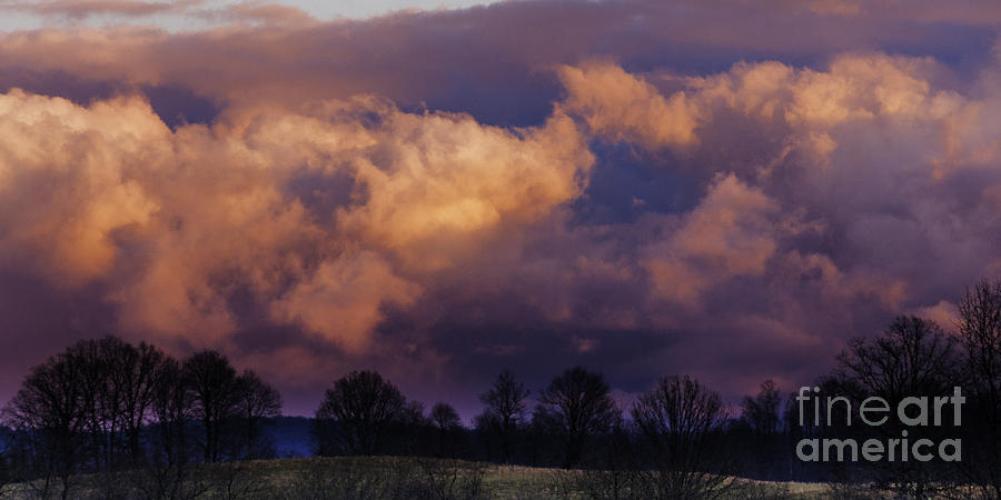 Storm Clouds Photograph - Sky Drama by Thomas R Fletcher