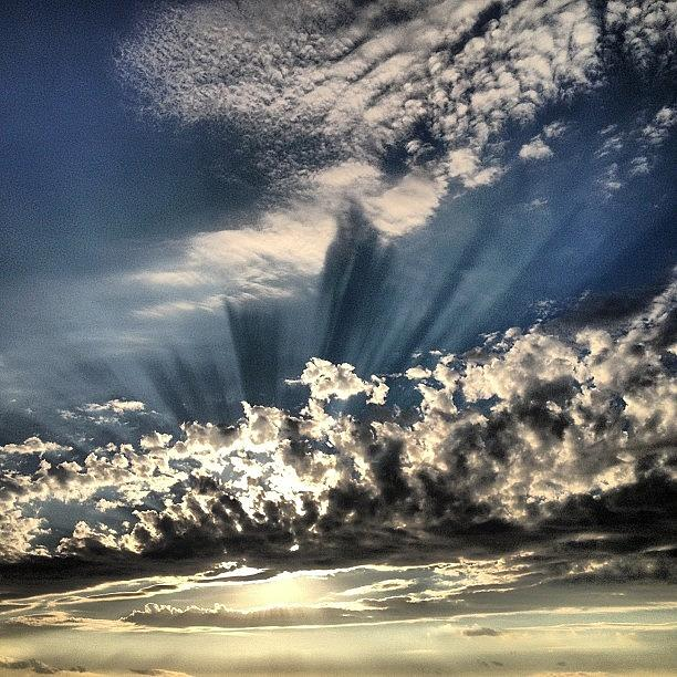 Sky Photograph - Sky Explosion by FC Designs