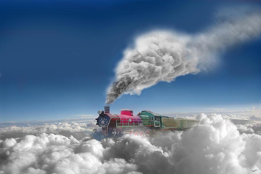 Clouds Photograph - Sky Express by Igor Zenin