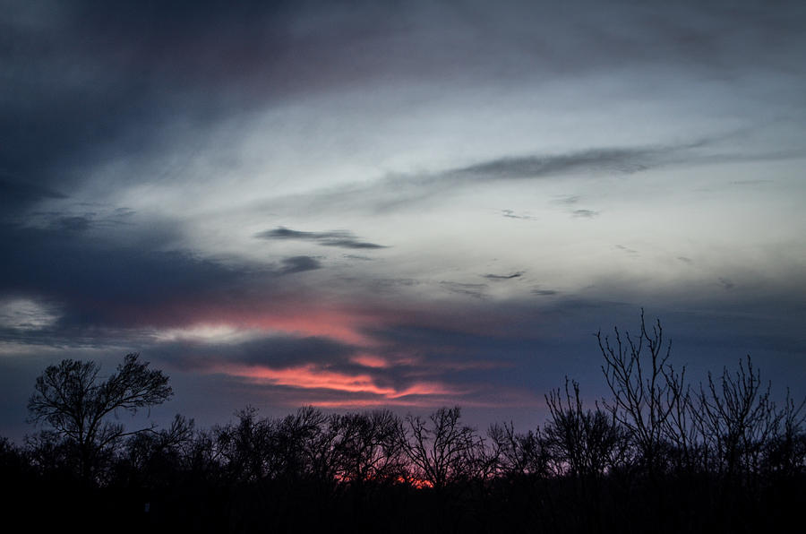Sunset Photograph - Sky Faces by Kelly Kitchens