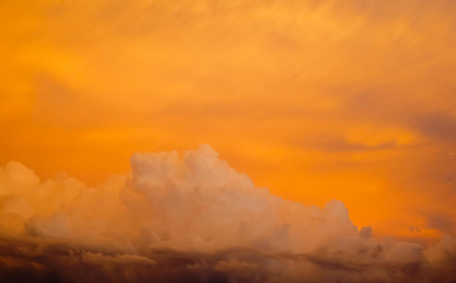 Sky Photograph - Sky Fire 001 by Tony Grider