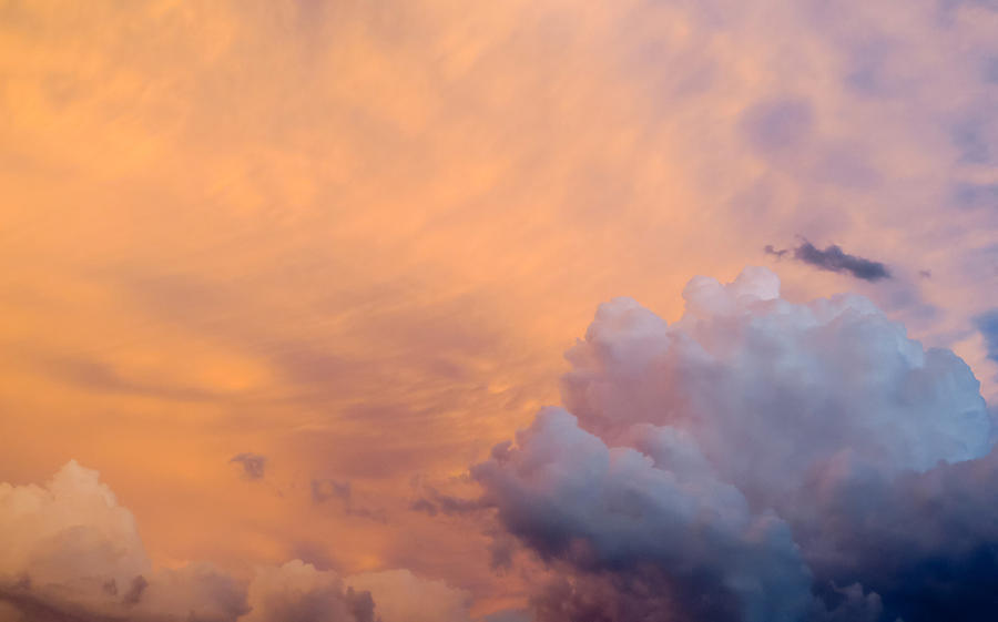 Sky Photograph - Sky Fire 003 by Tony Grider