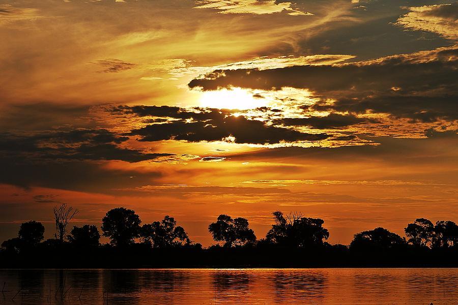 Sunset Photograph - Sky Fire by Liudmila Di