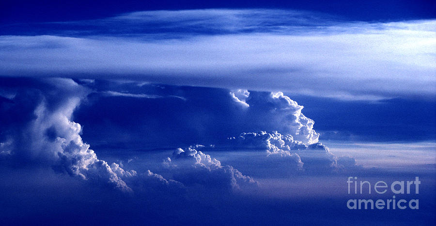 Sky Photograph - Sky From Above - 5026 by Paul W Faust -  Impressions of Light