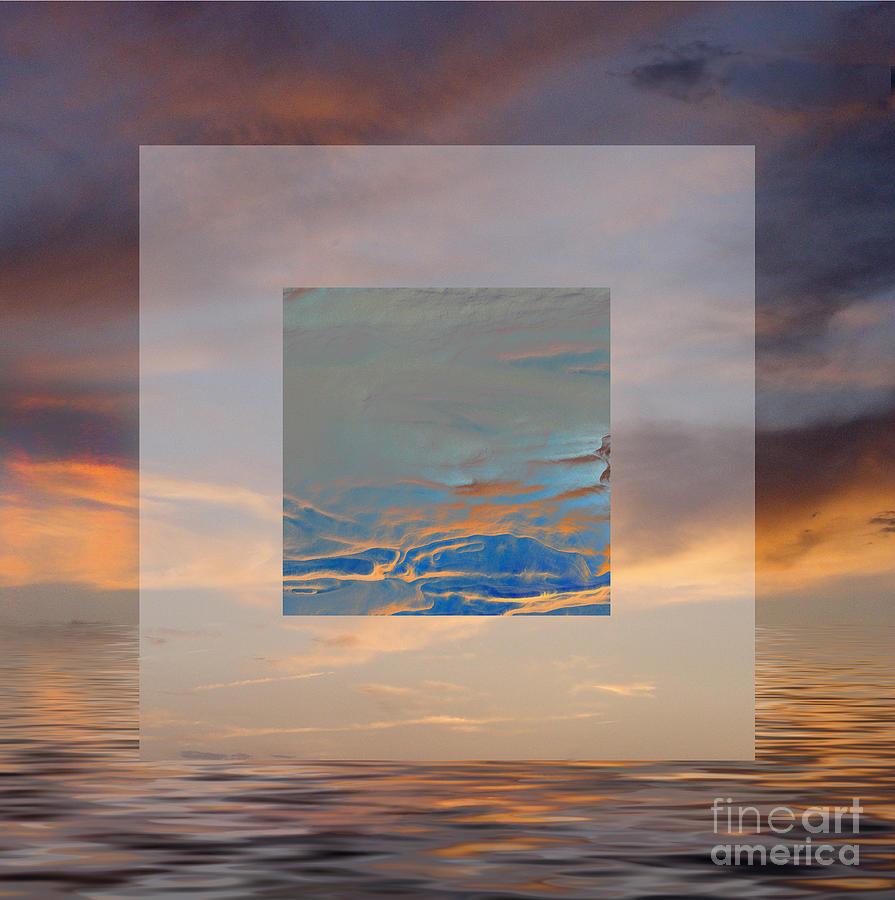 Sky Digital Art - Sky Games by Ursula Freer