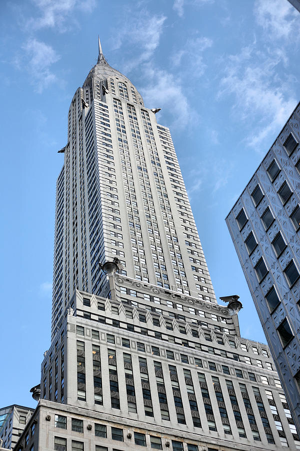 Chrysler Building Photograph - Sky High by JC Findley