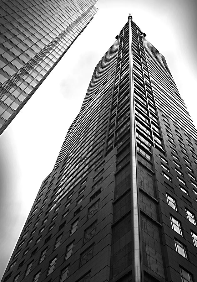 Toronto Photograph - Sky High by Michael Atkinson