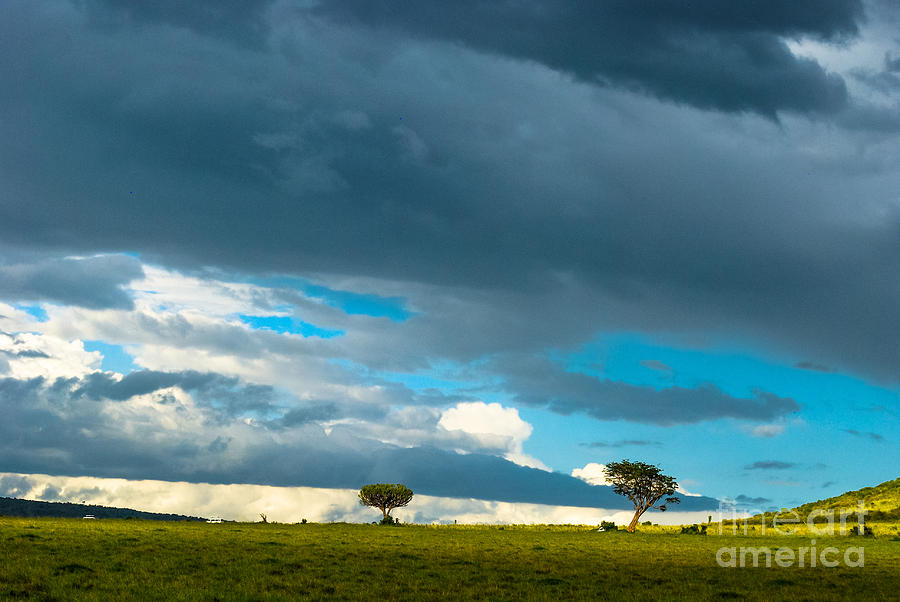 Sky Photograph - Sky Is The Limit by Syed Aqueel