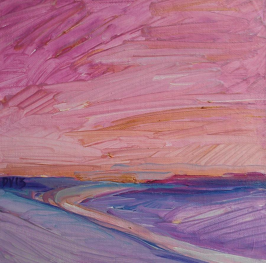 Dawn Vagts Painting - Sky Love by Dawn Vagts