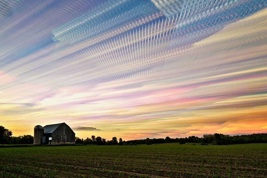 Matt Molloy Photograph - Sky Matrix by Matt Molloy