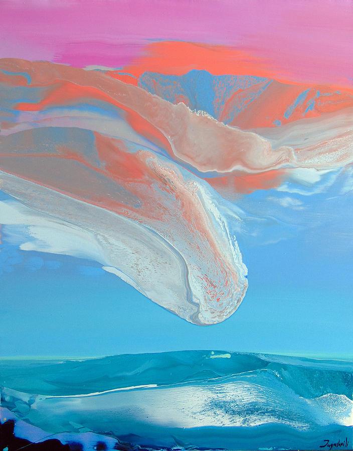 Skyscape Painting - Sky One IIi by Jacob Jugashvili