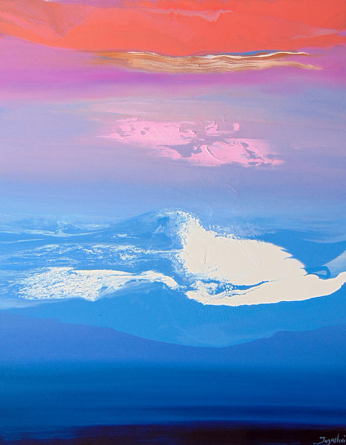Sky Painting - Sky One Iv by Jacob Jugashvili