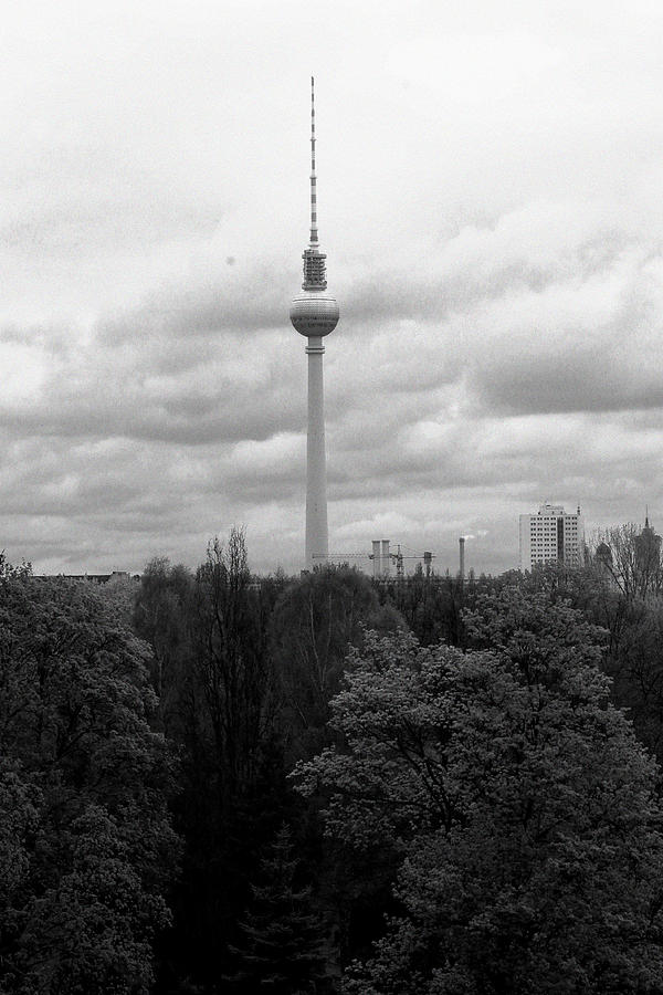 Sky Over Berlin Photograph by Steve K