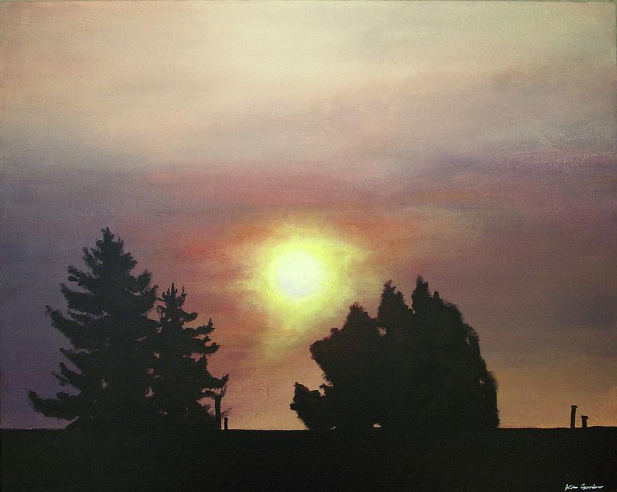 Sky Painting - Sky-scape 4 by Kim Cyprian