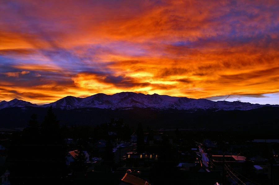 Mount Massive Photograph - Sky Shadows by Jeremy Rhoades