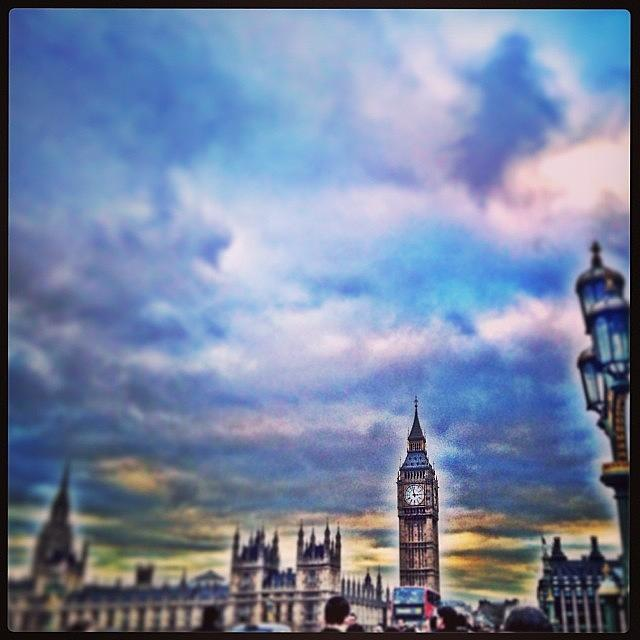 Westminster Photograph - #sky #skyline #westminster #bigben by Sharyn Omalley