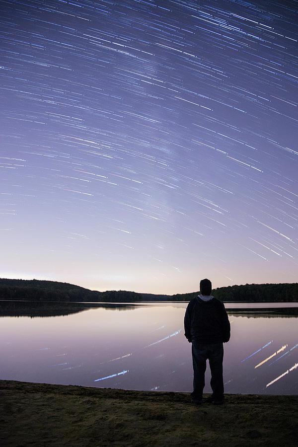 New Jersey Photograph - Sky Trails by Kristopher Schoenleber