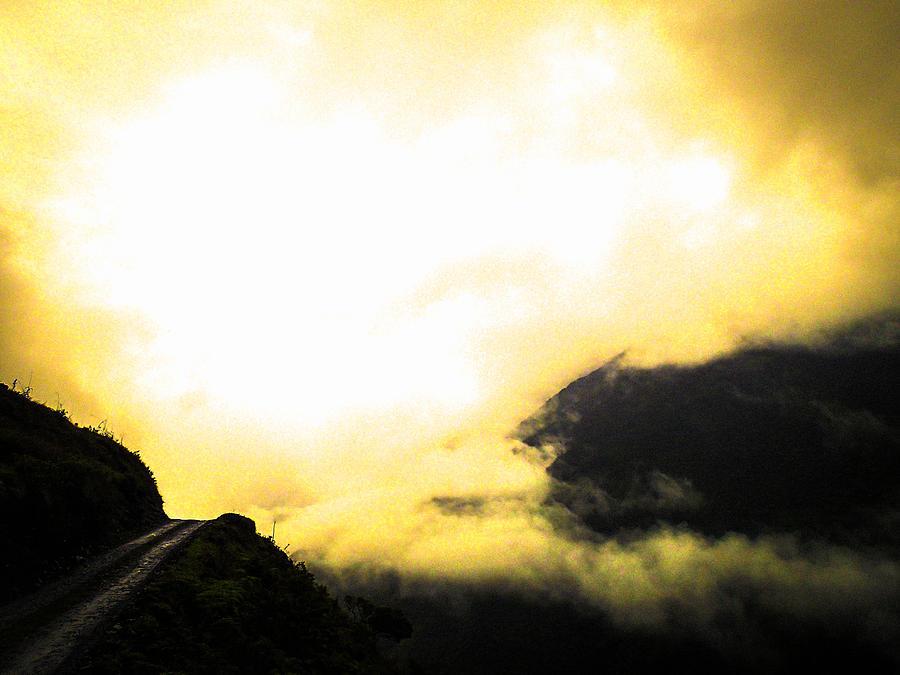 Bolivia Photograph - Sky Trails by Tyler Lucas