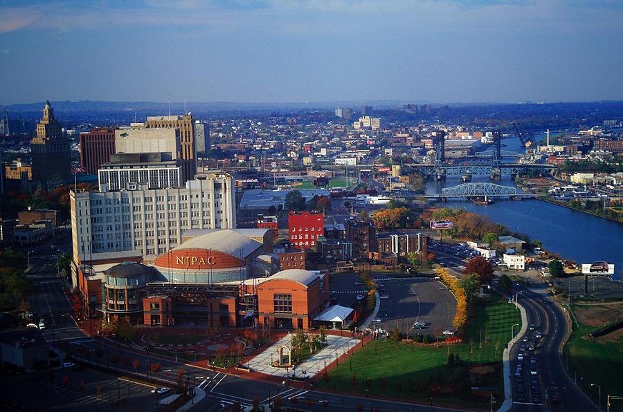 Skyline, Newark, Nj by Barry Winiker