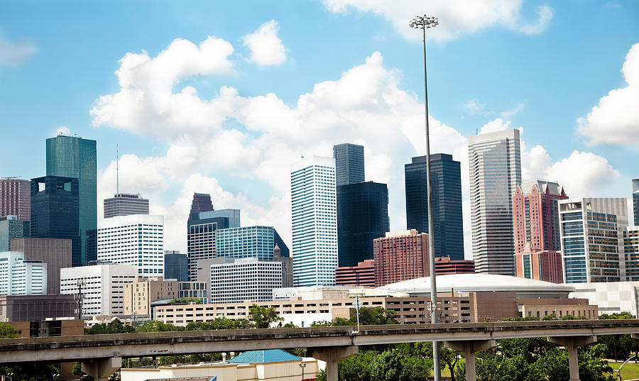 Skyline Of Downtown Houston Texas Photograph by Fstop123