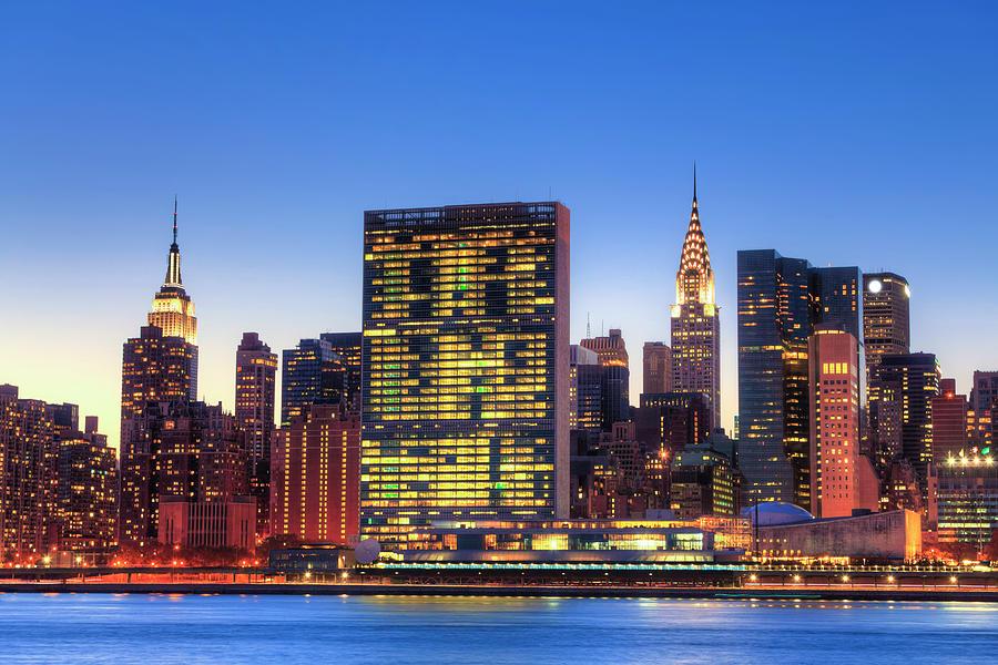 Skyline Of New York City Photograph by Pawel.gaul