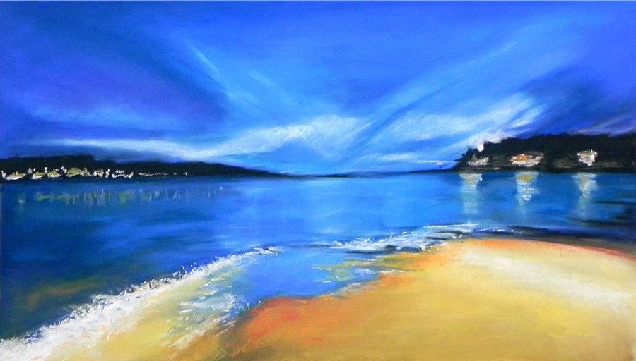 Seascape Pastel - Skyline by Paul Miners