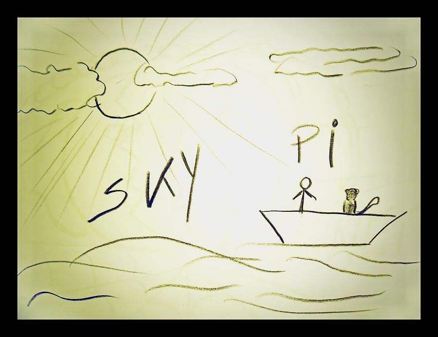 Drawing Drawing - Skype by Beto Machado