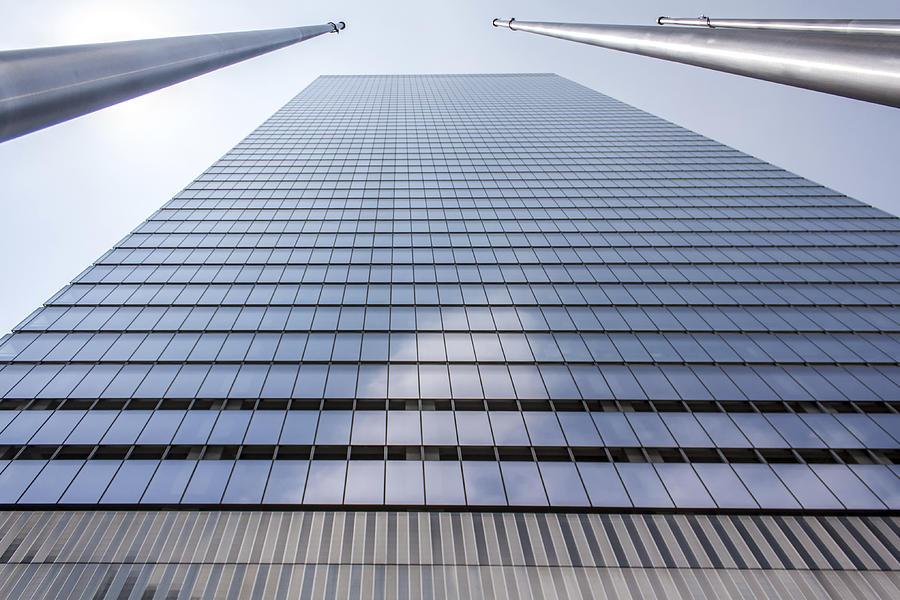 Architecture Photograph - Skyscraper In New York by Rostislav Bychkov