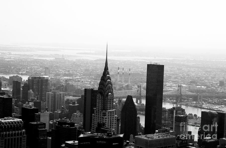 New York Photograph - Skyscraper by Linda Woods