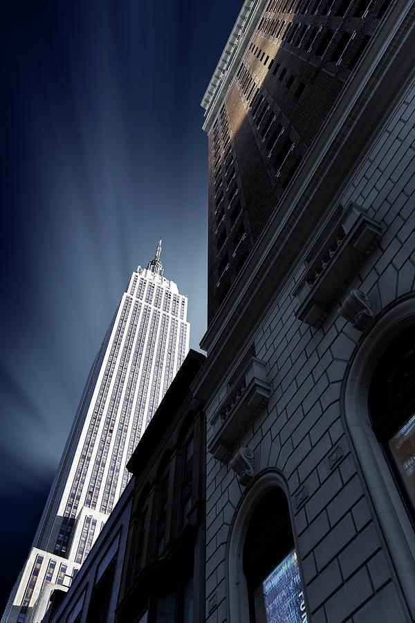 City Photograph - Skyscraper by Sebastien Del Grosso