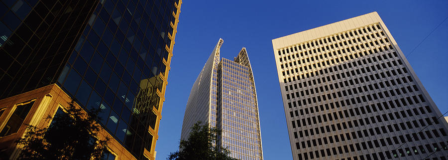 Color Image Photograph - Skyscrapers In A City, Atlanta, Fulton by Panoramic Images