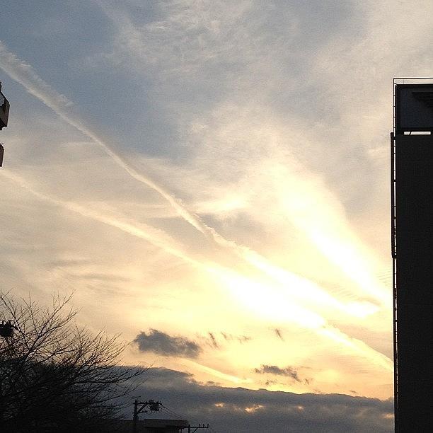 Sunset Photograph - #sky#sunset#landscape by Tokyo Sanpopo