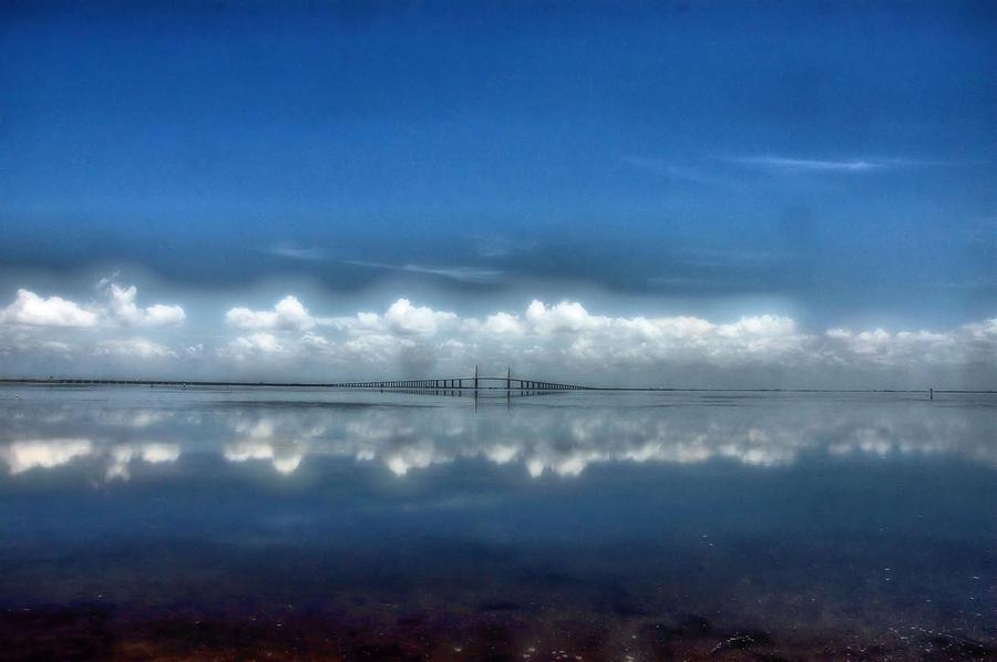 Skyway Bridge Photograph - Skyway by Eagle  Finegan