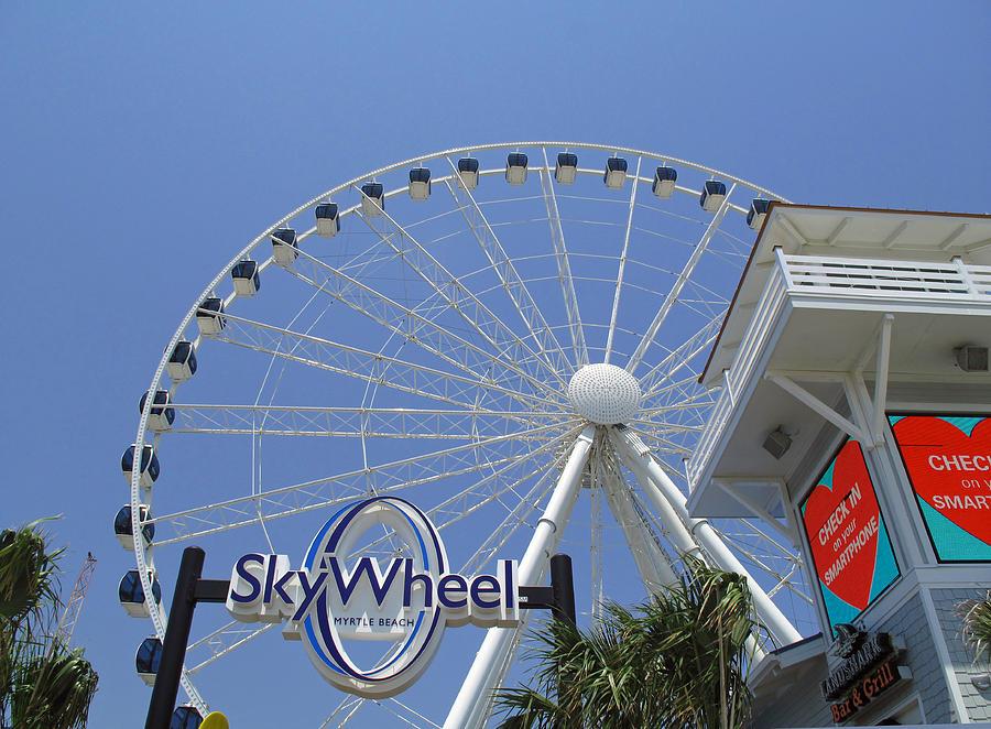 Myrtle Beach Skywheel Inside
