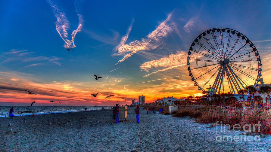 Sunset Myrtle Beach Today
