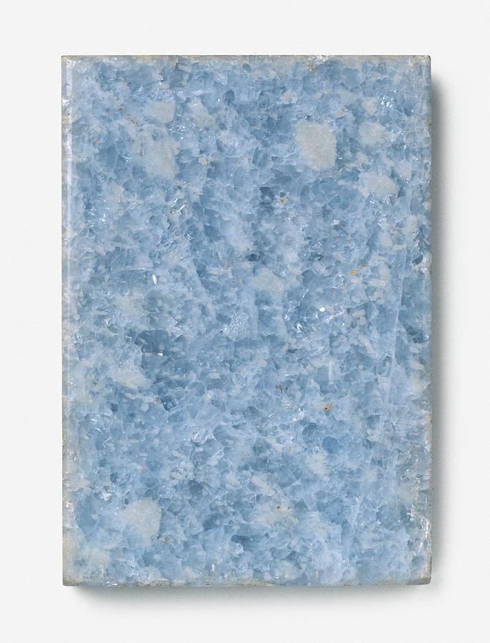 Blue Photograph - Slab Of Blue Marble by Dorling Kindersley/uig