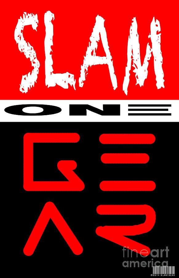 Painting Digital Art - Slam One Gear by James Eye