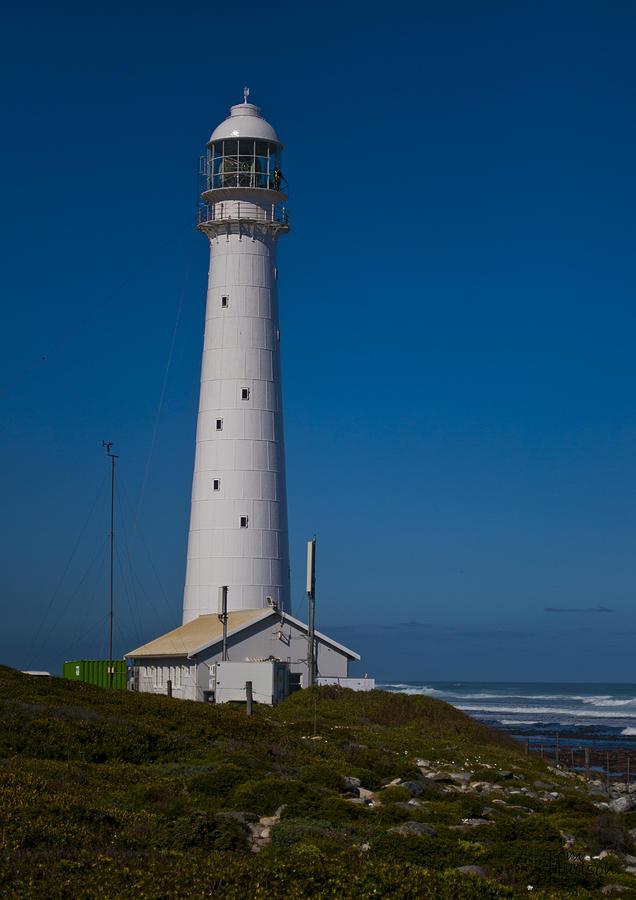 Lighthouse Photograph - Slangkop Lighthouse by Tom Hudson