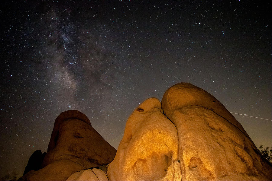 Rocks Photograph - Slanted Rocks by Ronald Hunt