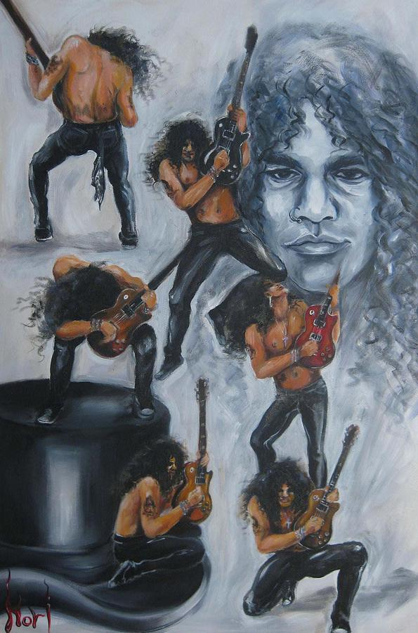 Slash Painting - Slash-4 by Nori Nurita