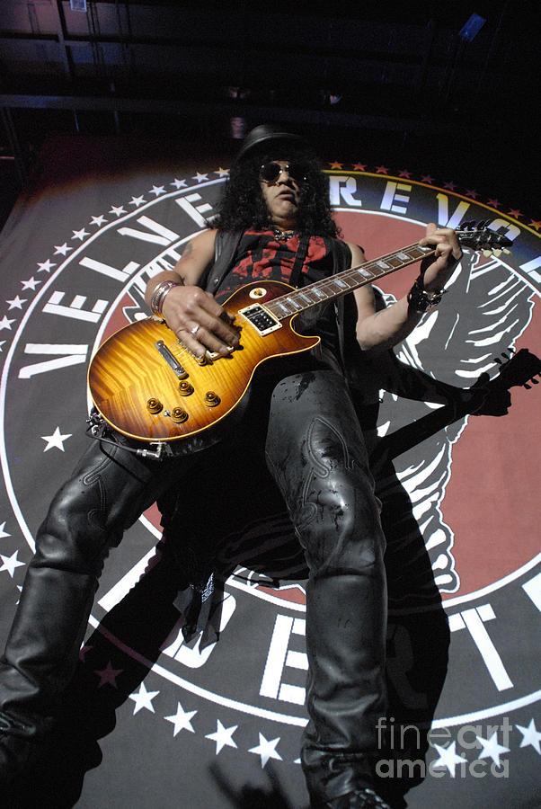 Slash Photograph - Slash Guitarist by Jenny Potter